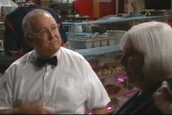 Harold Bishop, Rosie Hoyland in Neighbours Episode 4035
