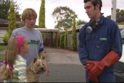 Summer Hoyland, Boyd Hoyland, Audrey, Mick Crowe in Neighbours Episode 4035