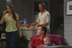 Libby Kennedy, Drew Kirk, Karl Kennedy, Ben Kirk in Neighbours Episode 4037