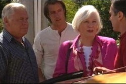 Lou Carpenter, Drew Kirk, Rosie Hoyland, Karl Kennedy in Neighbours Episode 4037