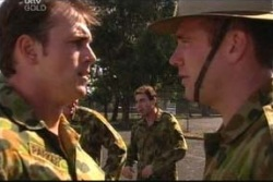 Stuart Parker, Sgt Geoff Cram in Neighbours Episode 4038