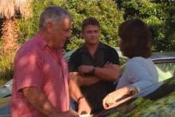 Lou Carpenter, Nathan Tyson, Lyn Scully in Neighbours Episode 4040