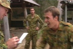 Sgt Geoff Cram, Stuart Parker in Neighbours Episode 4043