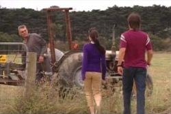 Craig Benson, Libby Kennedy, Drew Kirk in Neighbours Episode 4044