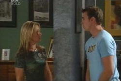 Steph Scully, Stuart Parker in Neighbours Episode 4045