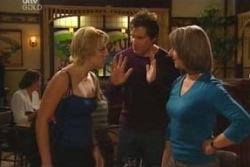 Penny Watts, Darcy Tyler, Carmel Tyler in Neighbours Episode 4045