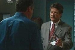 Karl Kennedy, Detective Goldstein in Neighbours Episode 4047