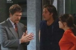 Detective Goldstein, Drew Kirk, Libby Kennedy in Neighbours Episode 4047