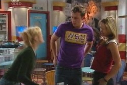 Dee Bliss, Stuart Parker, Steph Scully in Neighbours Episode 4047