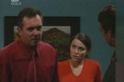 Karl Kennedy, Libby Kennedy, Detective Goldstein in Neighbours Episode 4047