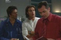 Darcy Tyler, Drew Kirk, Karl Kennedy in Neighbours Episode 4048