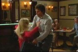 Sindi Watts, Darcy Tyler in Neighbours Episode 4050