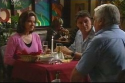 Lou Carpenter, Lyn Scully, Joe Scully in Neighbours Episode 4050
