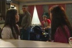 Libby Kennedy, Craig Benson, Drew Kirk, Susan Kennedy in Neighbours Episode 4051