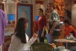 Susan Kennedy, Libby Kennedy, Drew Kirk in Neighbours Episode 4052