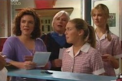 Lyn Scully, Rosie Hoyland, Michelle Scully, Nina Tucker in Neighbours Episode 4053