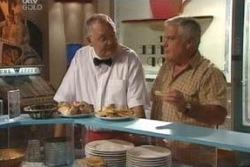Harold Bishop, Lou Carpenter in Neighbours Episode 4055