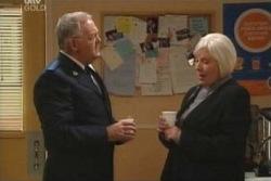 Harold Bishop, Rosie Hoyland in Neighbours Episode 4056