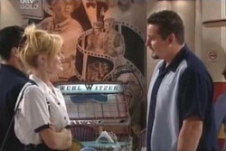 Dee Bliss, Toadie Rebecchi in Neighbours Episode 4057