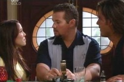Libby Kennedy, Toadie Rebecchi, Drew Kirk in Neighbours Episode 4057