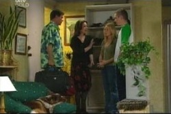 Michelle Scully, Boyd Hoyland, Lyn Scully, Joe Scully in Neighbours Episode 4059