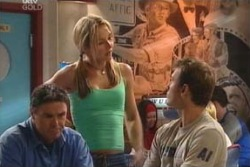 Steph Scully, Joe Scully, Stuart Parker in Neighbours Episode 4060