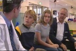 Dr Luke Shea, Boyd Hoyland, Cecille Bliss, Harold Bishop in Neighbours Episode 4061