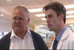 Harold Bishop, Dr Luke Shea in Neighbours Episode 4061