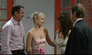 Karl Kennedy, Sindi Watts, Liljana Bishop, David Bishop in Neighbours Episode 4722