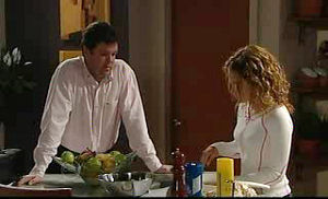 David Bishop, Serena Bishop in Neighbours Episode 4736