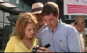 Serena Bishop, Harold Bishop, David Bishop in Neighbours Episode 4737
