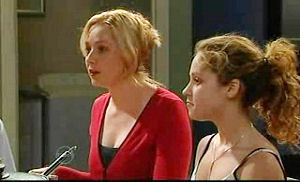 Janelle Timmins, Serena Bishop in Neighbours Episode 4750