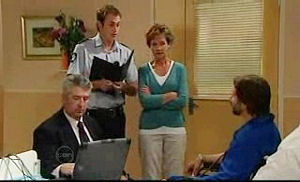 Stuart Parker, Susan Kennedy, Darcy Tyler in Neighbours Episode 4752