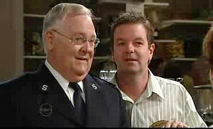 Harold Bishop, David Bishop in Neighbours Episode 4755