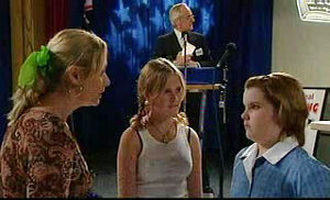 Janelle Timmins, Janae Timmins, Bree Timmins in Neighbours Episode 4755