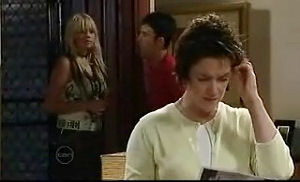 Sky Mangel, Stingray Timmins, Lyn Scully in Neighbours Episode 4756