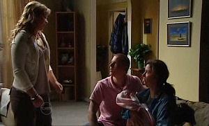 Steph Scully, Boyd Hoyland, Kayla Thomas, Ashley Thomas in Neighbours Episode 4767