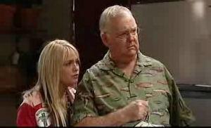 Sky Mangel, Harold Bishop in Neighbours Episode 4775