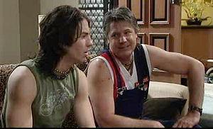 Dylan Timmins, Joe Mangel in Neighbours Episode 4776