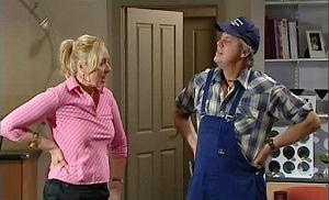 Janelle Timmins, Joe Mangel in Neighbours Episode 4780