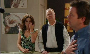 Liljana Bishop, Harold Bishop, David Bishop in Neighbours Episode 4781