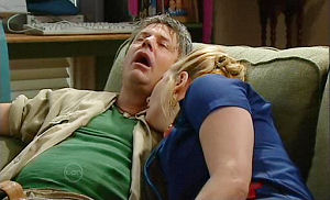 Joe Mangel, Janelle Timmins in Neighbours Episode 4785