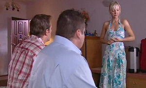 Stuart Parker, Toadie Rebecchi, Sindi Watts in Neighbours Episode 4787
