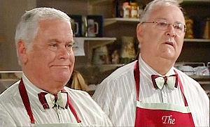 Lou Carpenter, Harold Bishop in Neighbours Episode 4794