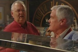 Harold Bishop, Lou Carpenter in Neighbours Episode 4854