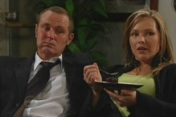 Max Hoyland, Steph Scully in Neighbours Episode 4855