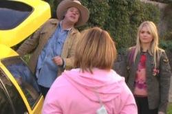 Joe Mangel, Bree Timmins, Sky Mangel in Neighbours Episode 4858