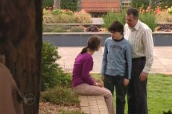 Rachel Kinski, Karl Kennedy, Zeke Kinski in Neighbours Episode 4871