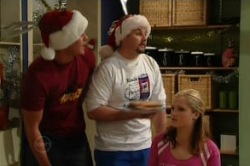 Ned Parker, Toadie Rebecchi, Janae Timmins in Neighbours Episode 4873