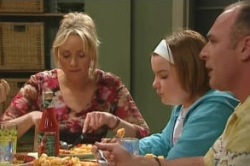 Bree Timmins, Janae Timmins, Kim Timmins in Neighbours Episode 4878